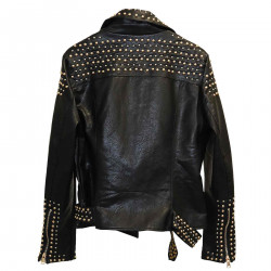 BLACK JACKET WITH STUDS