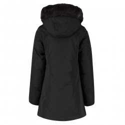 BLACK PARKA WITH HOOD