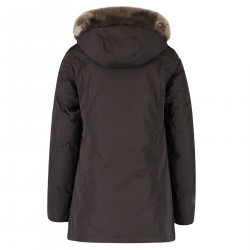 BROWN PARKA WITH HOOD