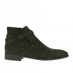 DARK BROWN SUEDE BOOT