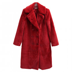 RED ECO FUR