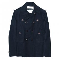 SHORT BLUE COAT