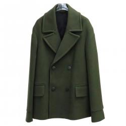 GREEN SHORT COAT