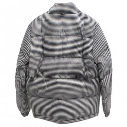 CHECKED PADDED JACKET