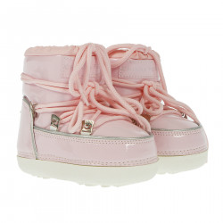 PINK PATENT MOON BOOT
