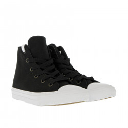 BLACK AND WHITE HIGH SNEAKER