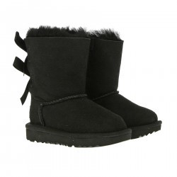 T BAILEY BOW BLACK BOOT
