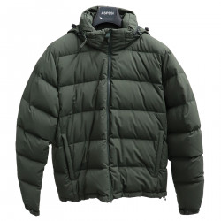 GREEN PADDED JACKET