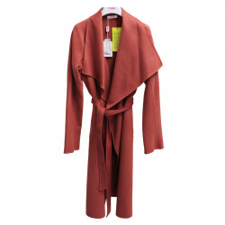 LIGHT RED OVERCOAT