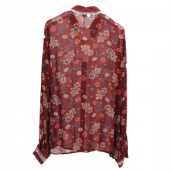 BORDEAUX FLORAL SHIRT