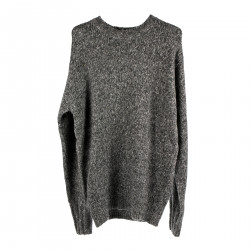 GREY ROUNDNECK SWEATER