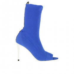 BLUE SOCK ANKLE BOOT