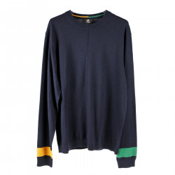 BLUE ROUNDNECK PULLOVER