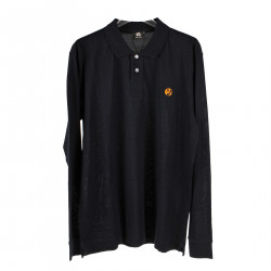 BLUE LONG SLEEVES POLO SHIRT
