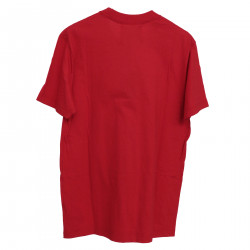 RED T SHIRT WITH WRITINGS