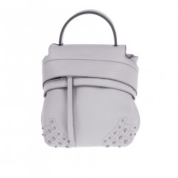 VIOLET BACKPACK WITH STUDS