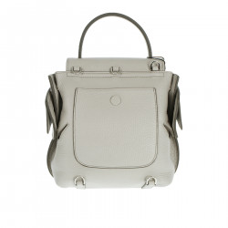 GREY BACKPACK WITH STUDS