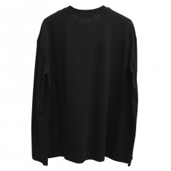 BLACK SWEATER WITH STRASS