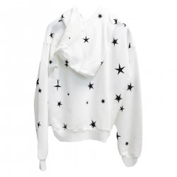 WHITE SWEATER WITH FANTASY
