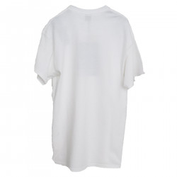 WHITE T SHIRT WITH ECO-FUSE INSERTS