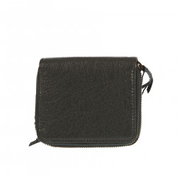 GREY WALLET WITH STUDS