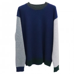 THREE COLOR SWEATER