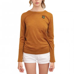 BRONZE VIRGIN WOOL PULLOVER