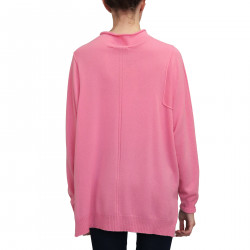 PINK CASHMERE PULLOVER