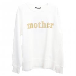 MOTHER WHITE SWEATSHIRT
