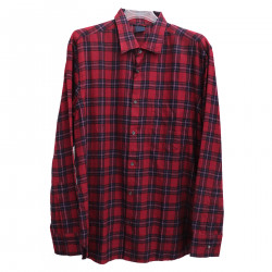 wholesale dealer 4f99b dcf4a ASPESI RED CHECKED SHIRT
