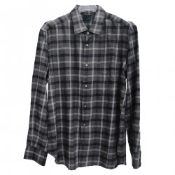 GREY CHECKED SHIRT
