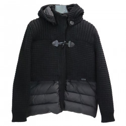 BLACK MONTGOMERY PADDED JACKET