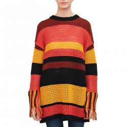 MULTICOLOR LONG SWEATER