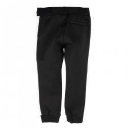 BLACK PANTS WITH WRITTEN