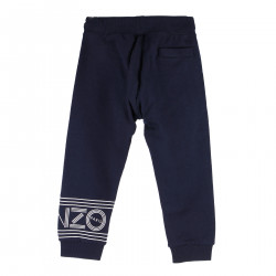 BLUE NAVY PANTS WITH WRITTEN
