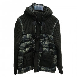 GREEN CAMOUFLAGE MONTGOMERY PADDED JACKET