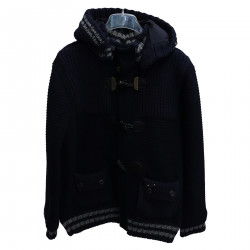 BLUE MONTGOMERY JACKET WITH HOOD