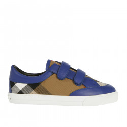 BLUE AND SCOTTISH SNEAKERS