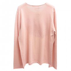 PINK PULLOVER WITH FANTASY
