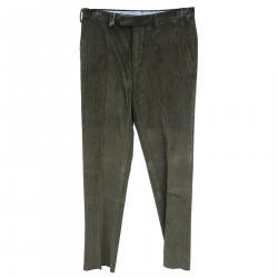 GREEN RIBBED PANTS