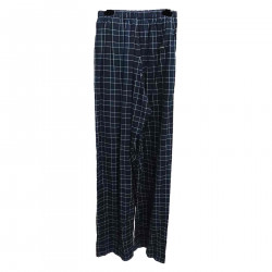 BLUE CHECKED TROUSERS