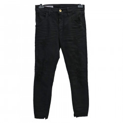 RIPPED BLACK TROUSERS
