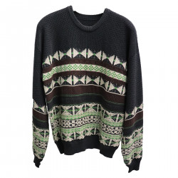 GRAY SWEATER WITH FANTASY
