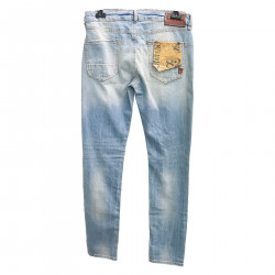 WORN EFFECT DENIM