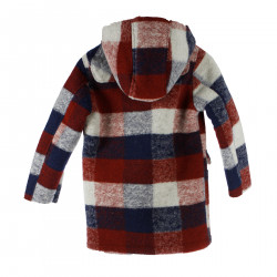 RED AND BLUE SCOTTISH COAT