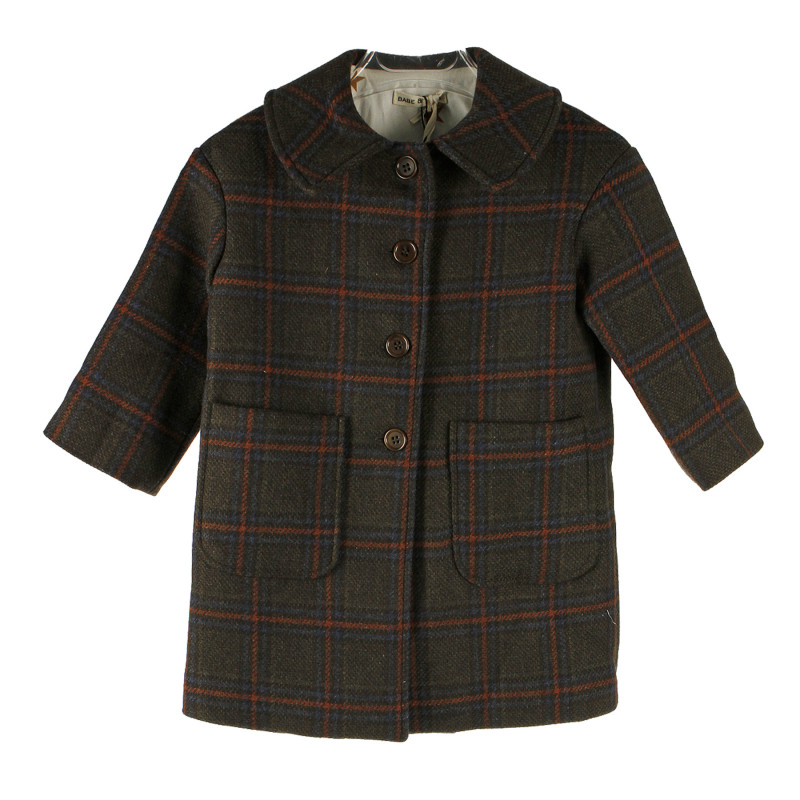 low priced a2104 b12a5 CAPPOTTO SCOZZESE MARRONE
