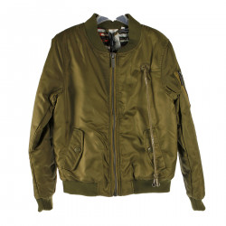 GREEN OLIVE DOWN JACKET