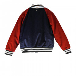 BLUE AND RED BOMBER