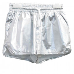 SHORTS COLOR SILVER