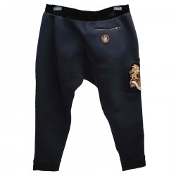NAVY PANTS WITH PATCHES